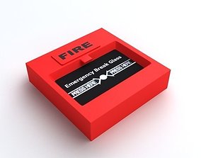 3D Emergency Alarm Button