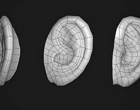 Human ear 3D asset