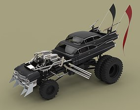 3D model Gigahorse from the movie Mad Max Fury road 2015