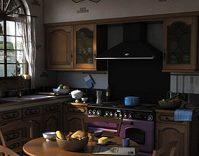 Traditional Kitchen 3D