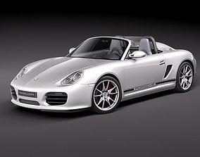 Porsche Boxster Spyder 3D model