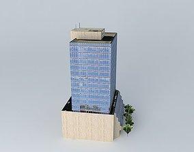 3D model ING Building