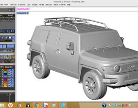 Toyota car 3d