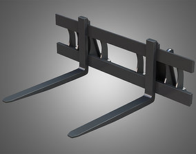 Pallet Fork - Front Loader 3D model