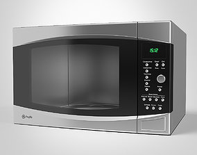 GE Microwave Oven 3D