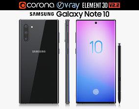 Samsung Galaxy Note 10 3D model