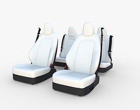 Tesla Model Y Seats White