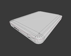 External Hard Drive Low Poly Version 3D model