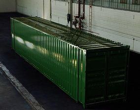3D 45FT ISO Shipping Container industrial