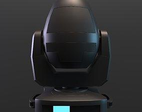 3D asset Moving Head