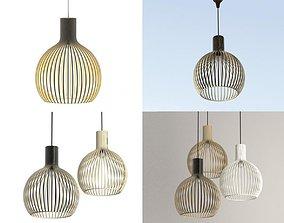 Contemporary-design Pendant lamp 3D model