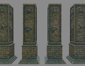 3D model pillar 9