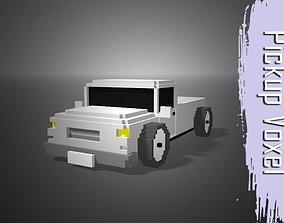 Pickup Voxel 3D asset