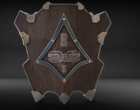 3D asset Dwarven Shield