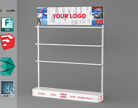 Display Stand 3D model realtime
