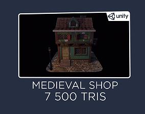 Blacksmith House - Medieval 3D model
