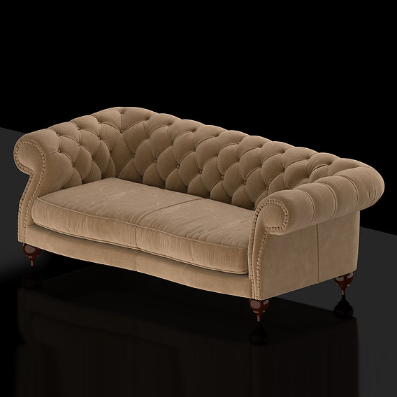 Diana Sofa 3D Model II