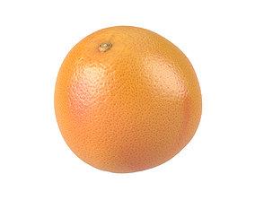 Photorealistic Grapefruit 3D Scan 2