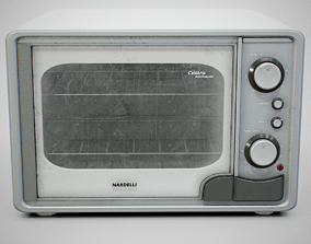 Oven - Nardelli Calabria Used 3D asset