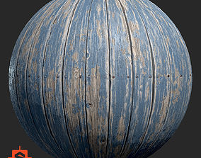 Substance Paint Wood Planks 3D model