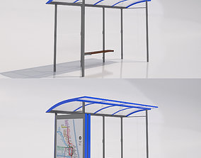 3D MMCite Skandum Bus Shelter Collection