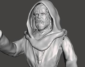 3D printable model LAST JEDI INSPIRITED OLD LUKE ACTION