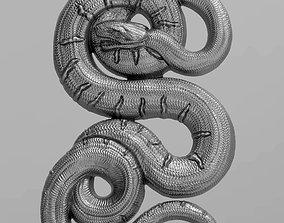 danger 3D print model Snake