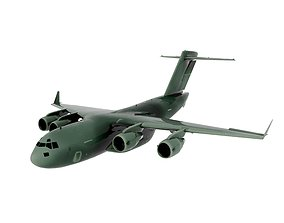 3D Douglas-Boeing C-17 Globemaster III