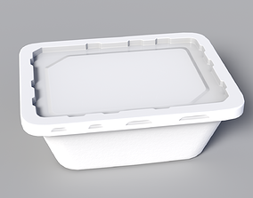 Plastic Container 3D model VR / AR ready