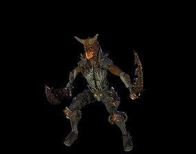3D model Demon Berserker