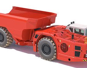 Sandvik underground truck Sandvik TH663 3D model