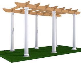 3D model exterior pergola Pergola