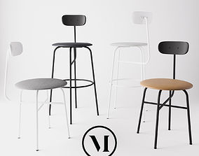 furniture Afteroom Chair Collection by MENU 3D model