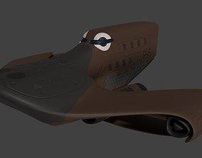 3D model Platypus spaceship
