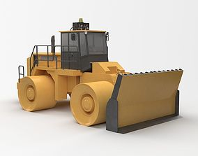 3D model Construction Truck industrial