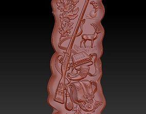 hobby 3D print model beautiful pannel - hunting