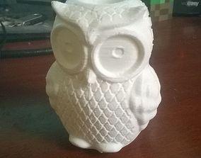 3D print model Owl Vase