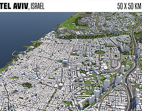 Tel Aviv Israel 3D model