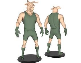 3D printable model Beast Man Of OX