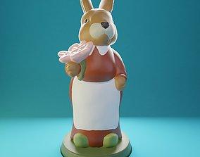 Easter Bunny Martha 3D print model