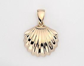 3D print model Seashell pendant