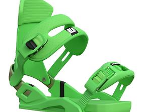 3D model Snowboard mounts