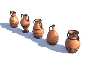 3D asset Ancient Greek Vase