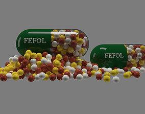 care Pill - Capsule 3D