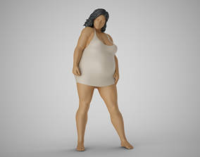 Unusual Woman Beauty 2 3D printable model