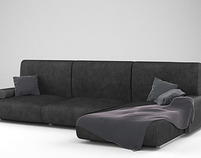 3D model Low-Poly Manhattan Couch