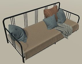 Bed-ikea low poly 3D model