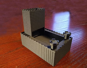 3D printable model Dice Roller Castle