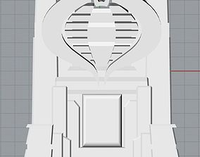 GI Joe Cobra Commander Throne 3D print model