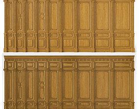 Wooden panels 03 05 3D model